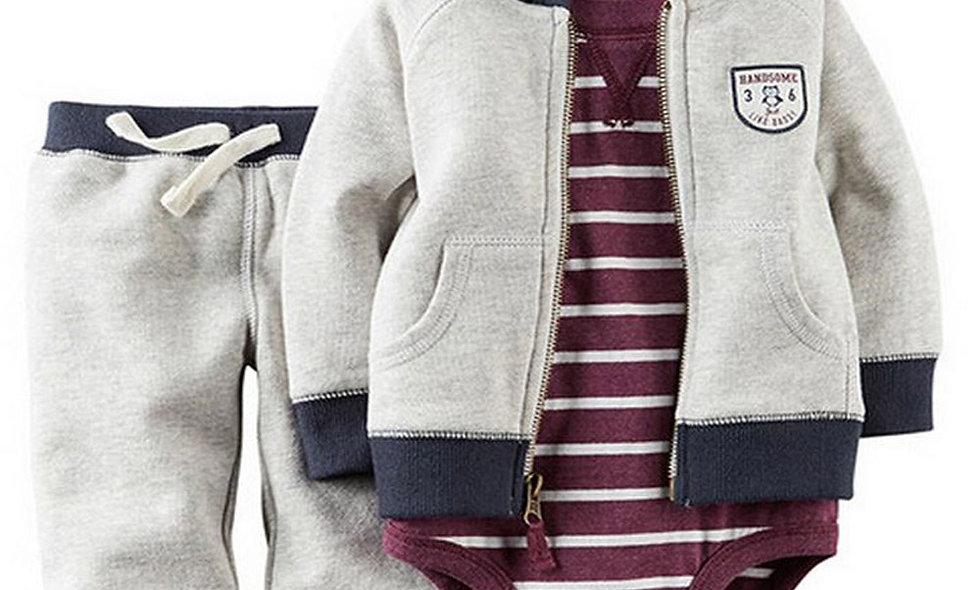 Boy Girl Clothing Autumn Spring Children Suits Newborn Set