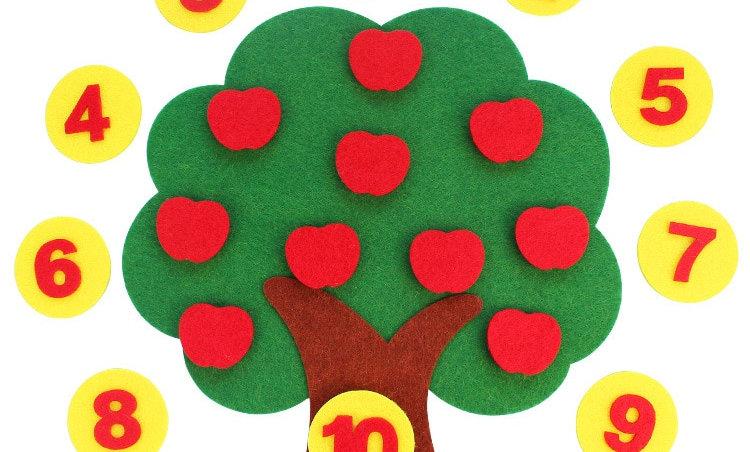 Durable Digital Child Montessori Education Supplies Kids Gifts