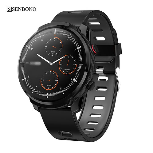 Men Women Sports Clock Heart Rate Monitor  Smartwatch for IOS Android Phone