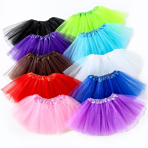 Candy Color Skirts Baby Girl Clothes Petticoat Tutus for Birthday