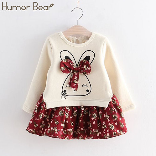 Toddler Girl Clothes Children Clothing Cute Animal Baby Girls Dresses