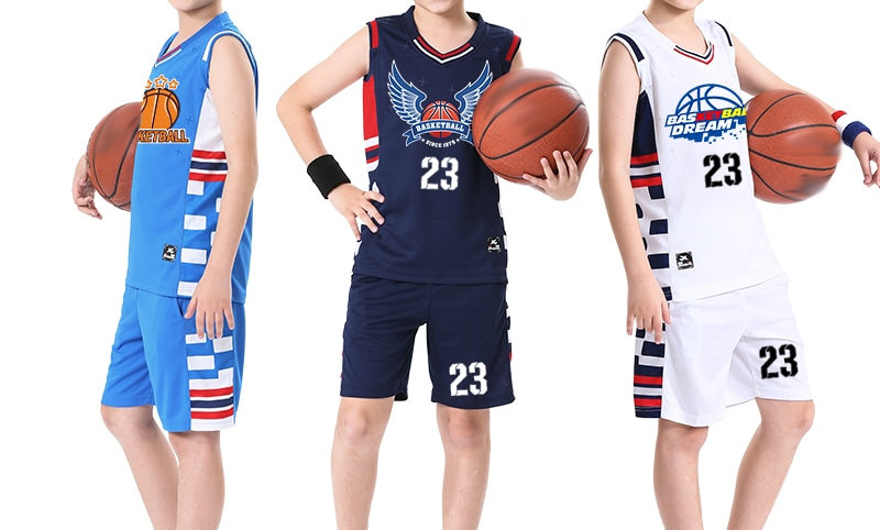 Uniforms for Boys Youth Cheap Basketball Clothes Basketball Shirts for Childrens