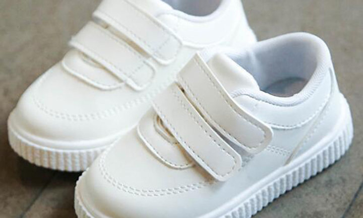 White Black School Shoes Pink Casual Shoe Flexible Sole Fashion
