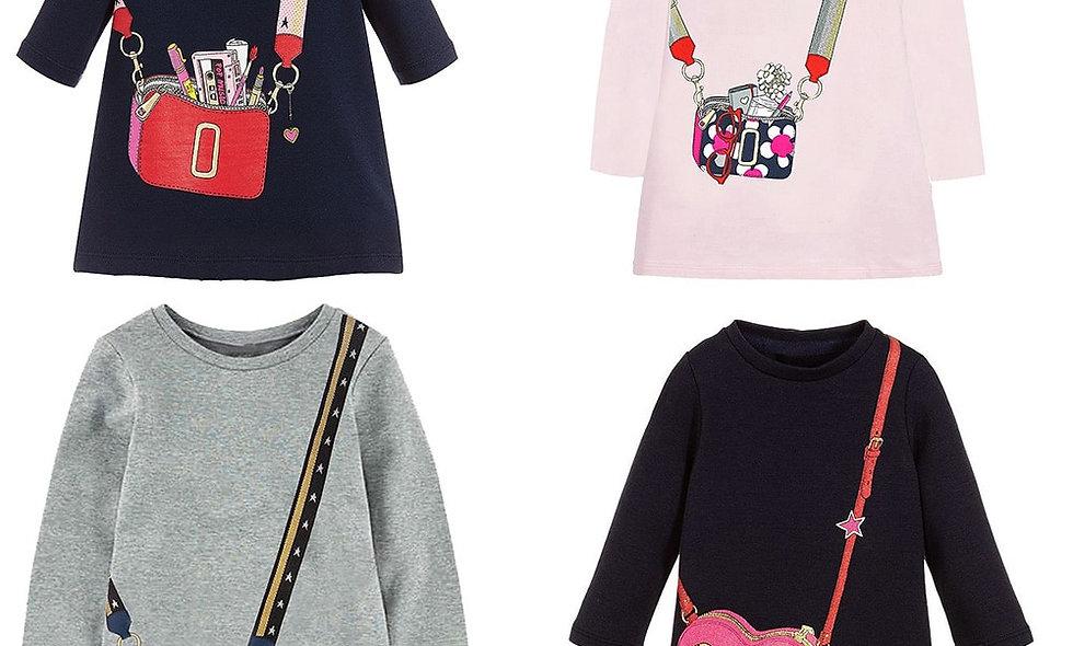 Dresses for Girls Clothes Vestido Toddler Dress Children Clothing
