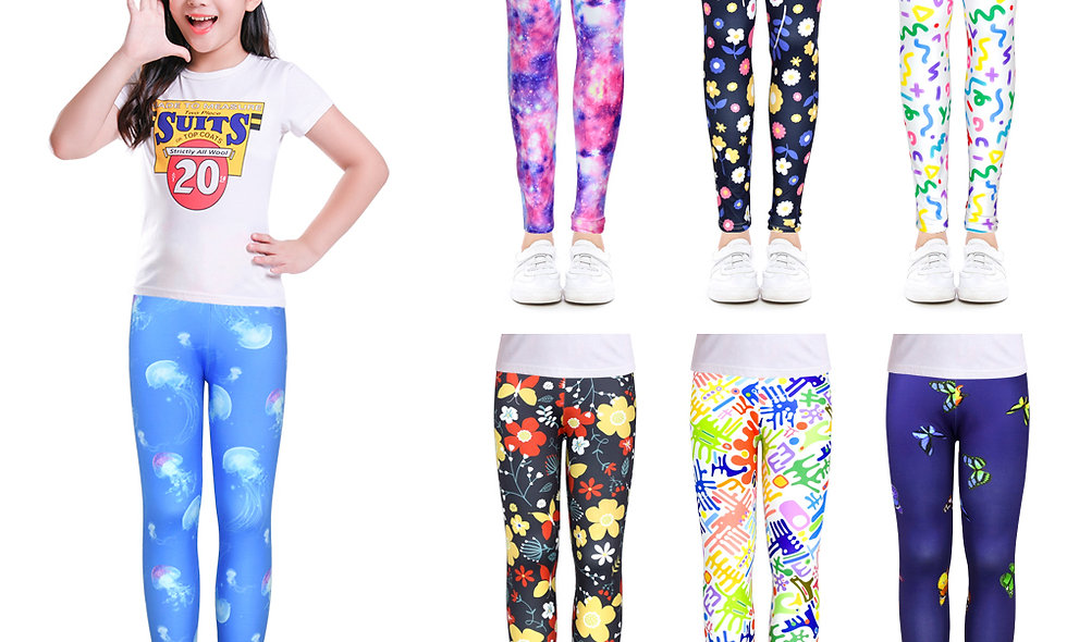 Clothes Soft Girls Leggings Pencil Pants Cotton Kids Trousers