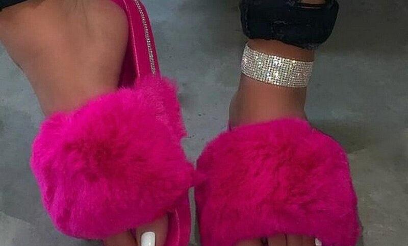 Flats Sweet Ladies Shoes Size 36-43 Purple  Color