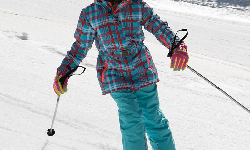 Windproof Hoodie Snowboard Jacket and Pant Fur Snow Clothes