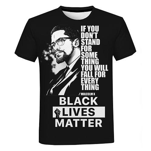 T-Shirt Short Sleeve Unisex I Can't Breathe George Floyd Tshirt Streetwear