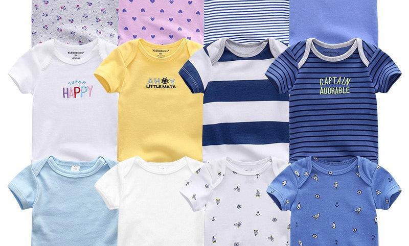 100%Cotton Children Roupa De Bebe Girls&Boys Baby Clothes