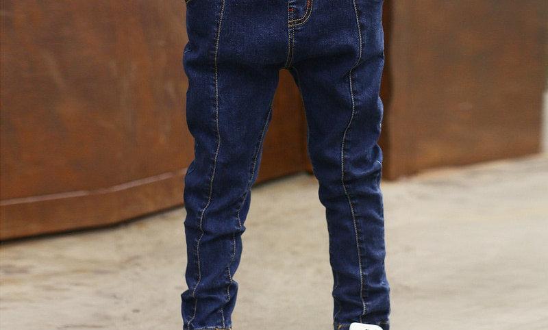 Denim Clothing Long Pants Kids Baby Boy Casual Trousers