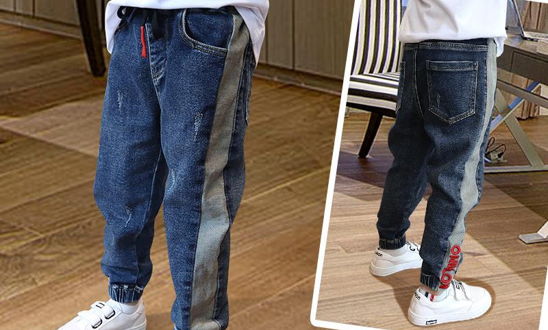Denim Clothing Trend Long Bottoms Baby Boy Casual Trousers