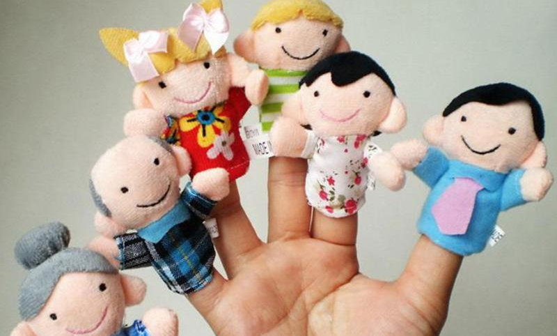 Toys Kids Educational Finger Puppets