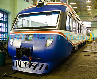 Капотировка поезда фасад экстерьер внешний вид кузов дизайн поезда ооо технотрансмаш