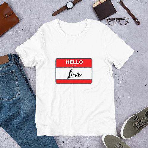 Hello...I'm Love
