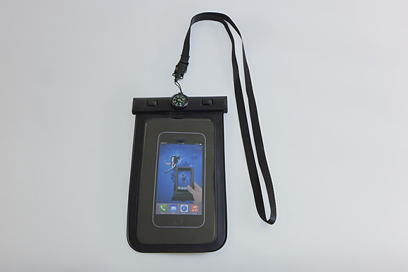 Waterproof Phone Bag with Compass
