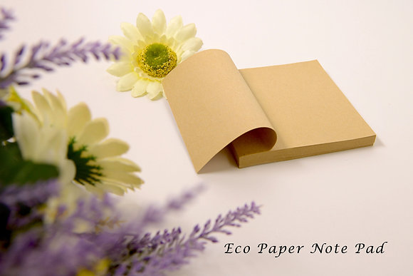 Eco Paper Note Pad 03