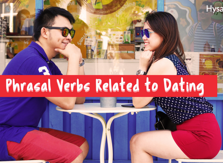 Phrasal Verbs Related to Dating😍
