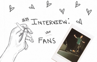 an interview with the fans of the local scene