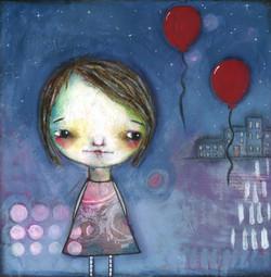 Balloon Girl   SOLD