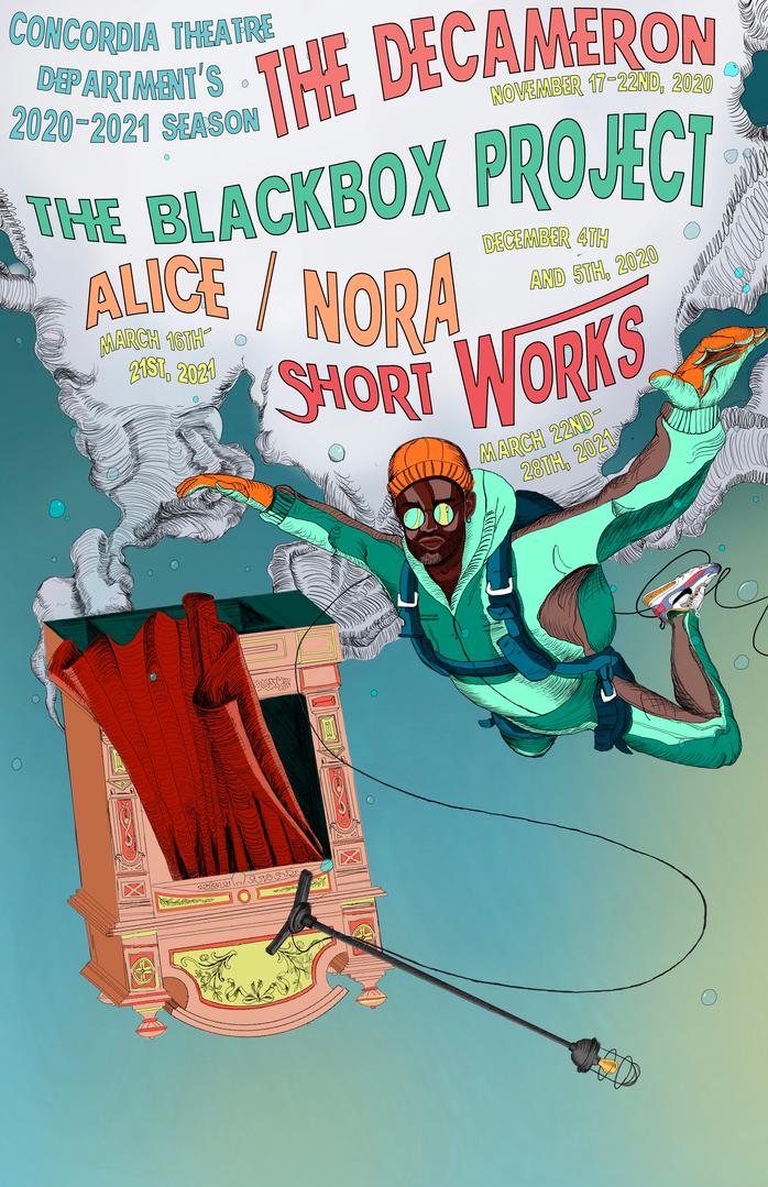 Concorida Theatre Season Poster