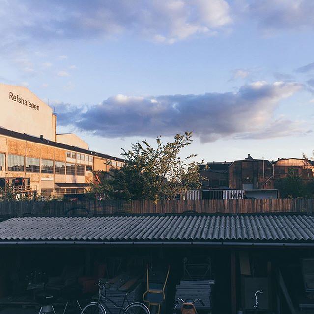 arrived in Refshaleøen #urbanscenography