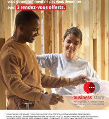 PRÉSENT DANS L'AVENTURE : BUSINESS STORY