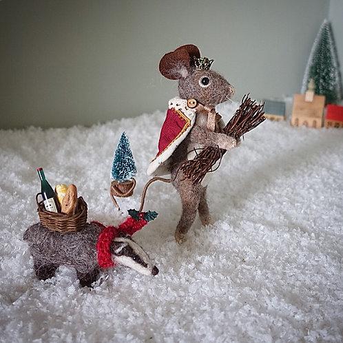 Good King Mouseslas & Stephen badger