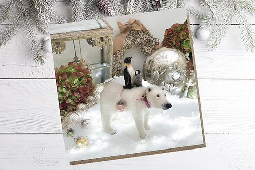 Lumi polar bear, Tuulikki & Armo