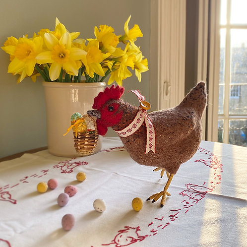April the Easter hen