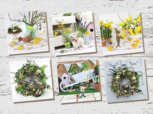 Spring Cards (Set of 6)