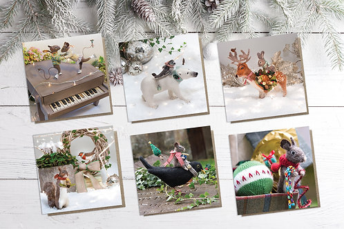 Christmas Cards (Set of 6)