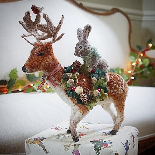 Elwood deer & Briar rabbit