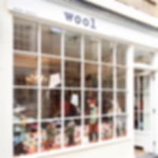 Wool Bath Window Display