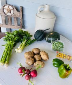 veggies week 16