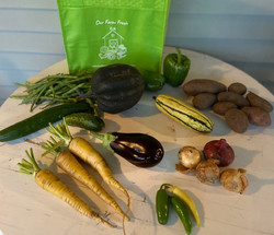 veggies week 13