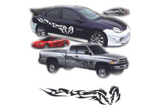 ( 121 fur) Vehicle Graphic