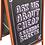 Thumbnail: Chalk Board A-frame