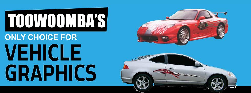 vehicle graphics toowoomba, car decals toowoomba