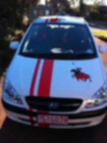 car pin stripe toowoomba