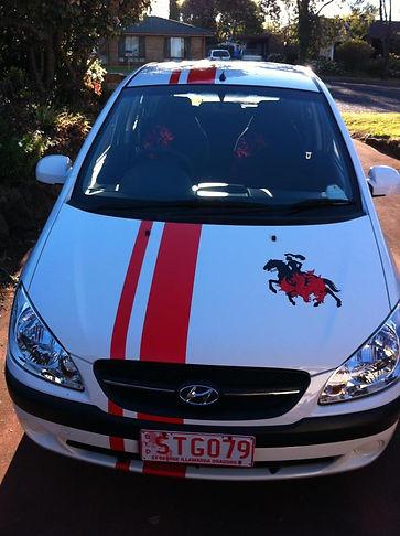 car pin stripe toowoomba