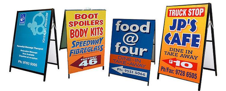 a-frame sign qld, aframe signs toowoomba, menu board signs toowoomba, sandwich board signs toowoomba