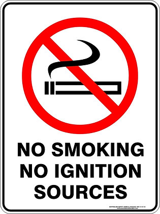 No Smoking No Ignition Sources