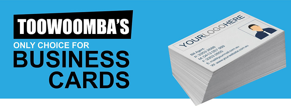 BUSINESS CARD PRINTING TOOWOOMBA, design, digital and offset printing toowoomba, stationery