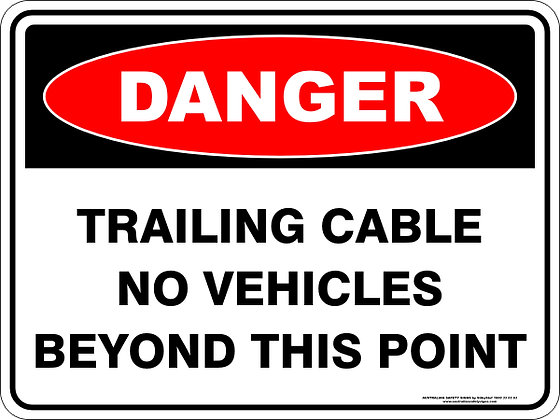 Trailing Cable No Vehicles