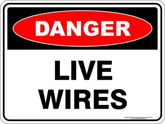 Live Wires Danger Sign