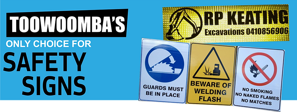 Looking for security safety signs stickers toowoomba