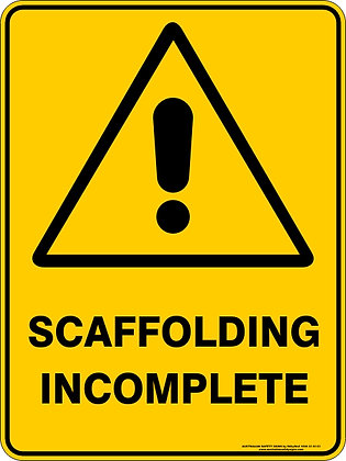 Scaffolding Incomplete Sign