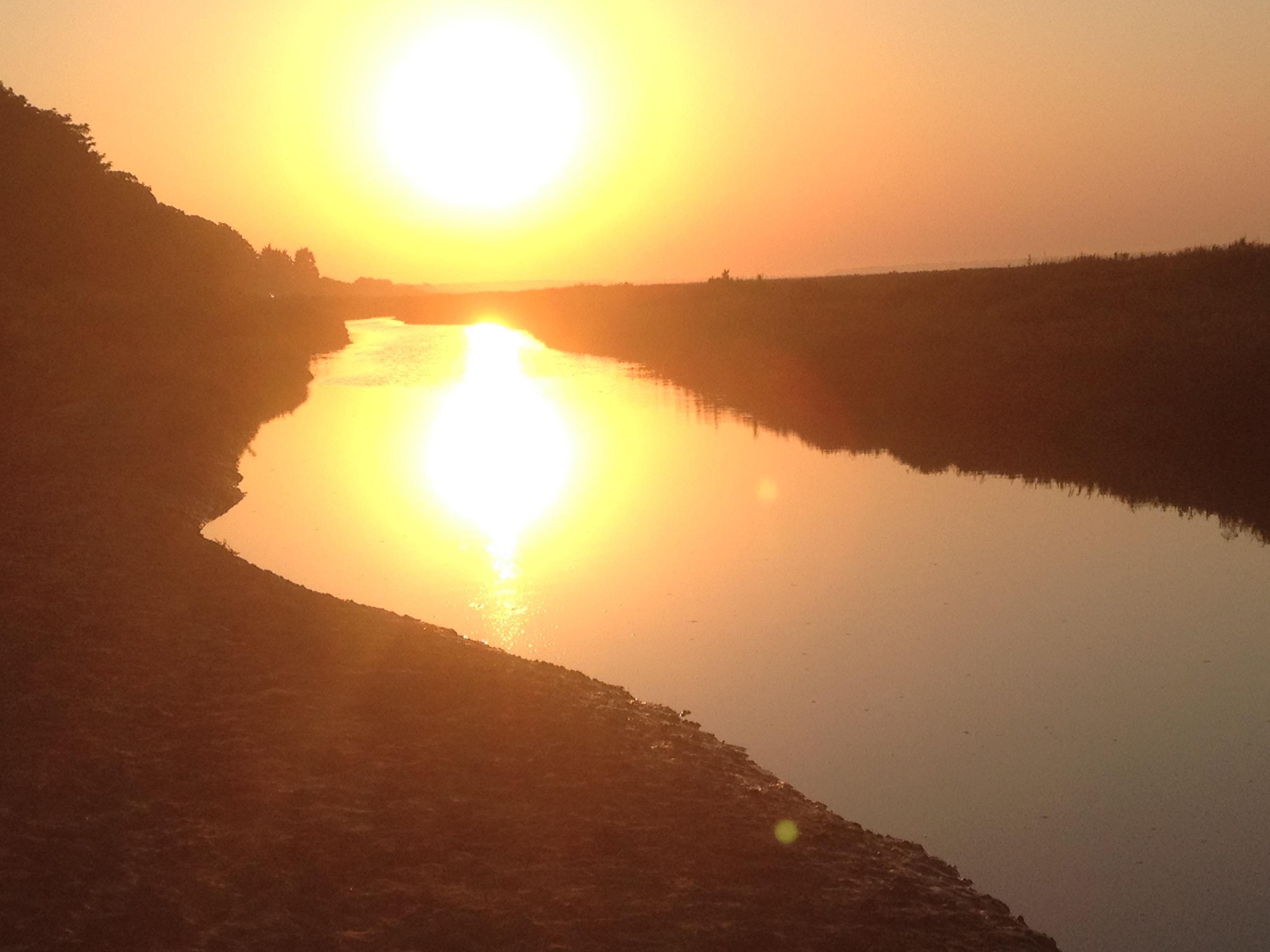 Stiffkey sunset
