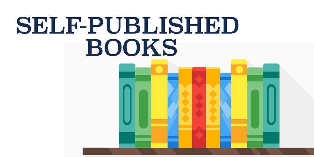 Self-published books image