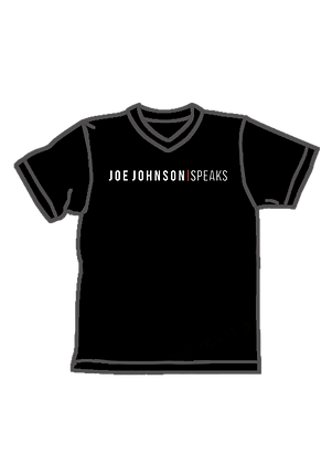 Joe Johnson Speaks (V-Neck)